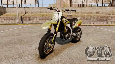 Yamaha YZF-450 v1.16 para GTA 4