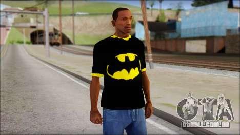 Batman T-Shirt para GTA San Andreas