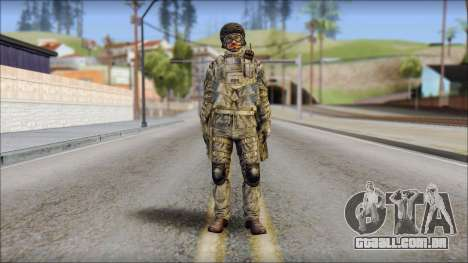 Forest SFOD from Soldier Front 2 para GTA San Andreas