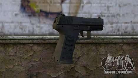HK P2000 from CS:GO v1 para GTA San Andreas segunda tela