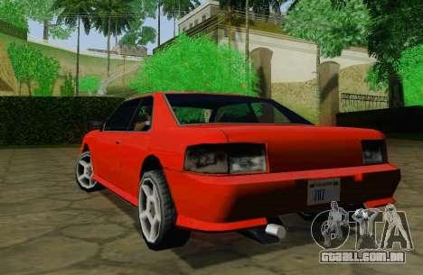 Sultan Coupe para GTA San Andreas vista direita