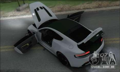 Aston Martin V12 Vantage S 2013 para as rodas de GTA San Andreas