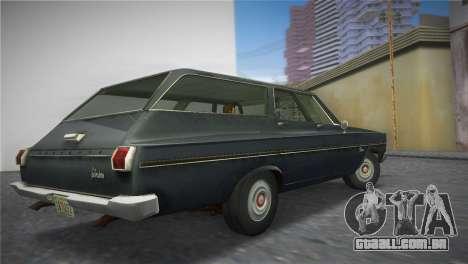 Plymouth Belvedere I Station Wagon 1965 para GTA Vice City deixou vista