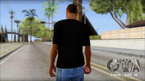 Wild POP Thing Shirt para GTA San Andreas segunda tela