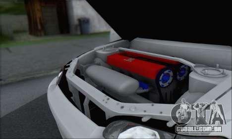 Honda Civic 1995 para GTA San Andreas vista superior