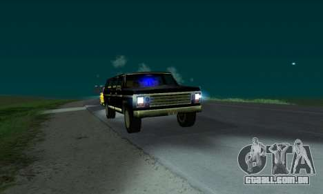 New FBI Rancher para GTA San Andreas