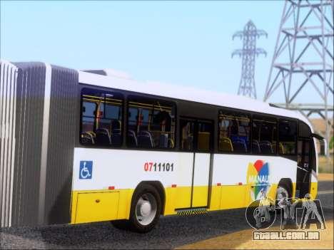 Neobus Mega BRT Volvo B12M-340M para GTA San Andreas vista direita