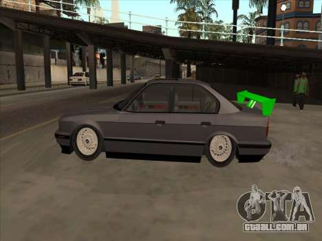 BMW 535i para GTA San Andreas vista interior