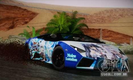 Lamborghini Reventon Black Heart Edition para GTA San Andreas