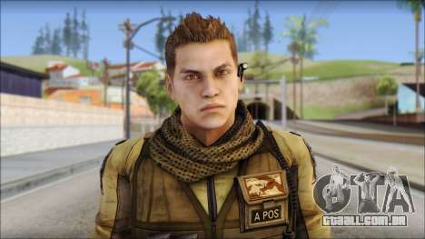 Piers Nivans Resident Evil 6 para GTA San Andreas terceira tela