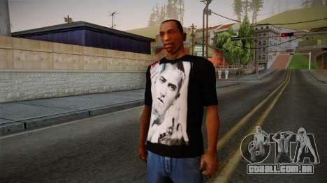 Eminem Fuck Off T-Shirt para GTA San Andreas