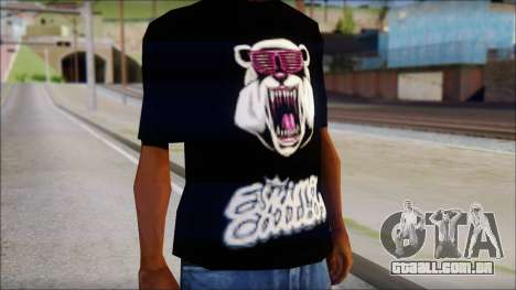 Eskimo Callboy Eisbaer T-Shirt para GTA San Andreas terceira tela