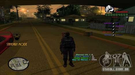 Indicators para GTA San Andreas segunda tela