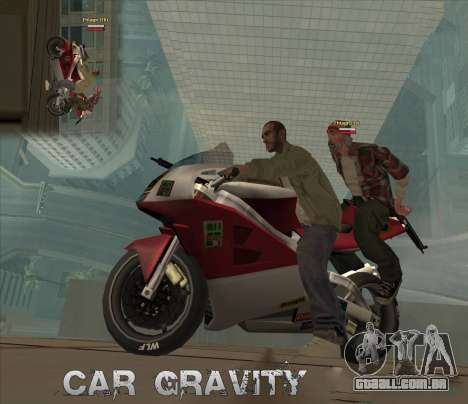 Car Grav Hack para GTA San Andreas