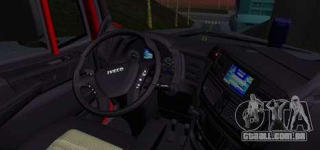 Iveco Stralis HI-ROAD para GTA San Andreas traseira esquerda vista