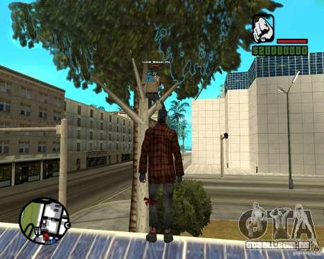 Players Informer para GTA San Andreas terceira tela