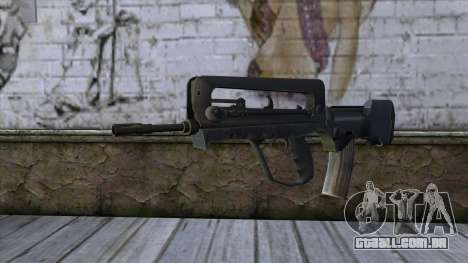 Famas from CS:GO v2 para GTA San Andreas