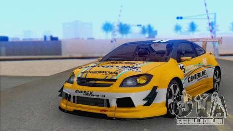 Chevrolet Cobalt SS para GTA San Andreas vista traseira