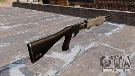 Sua arma Franchi SPAS-12 ACU Camouflage para GTA 4 segundo screenshot