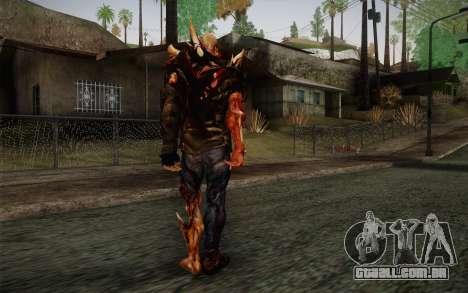 Zombie Heller from Prototype 2 para GTA San Andreas segunda tela