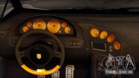Pegassi Zentorno from GTA 5 v3 para GTA San Andreas vista interior