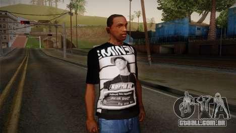 Eminem T-Shirt para GTA San Andreas