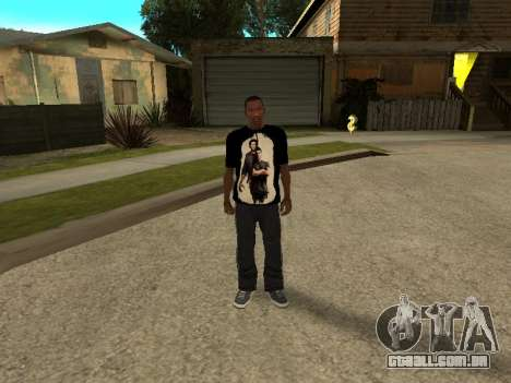 T-Shirt Sobrenatural para GTA San Andreas terceira tela