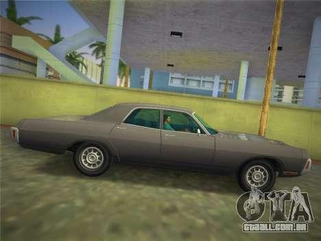 Dodge Polara 1971 para GTA Vice City vista direita