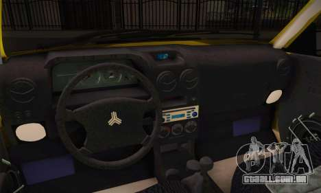 Kia Pride 132 para GTA San Andreas traseira esquerda vista