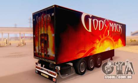 Godsmack - 1000hp Trailer 2014 para GTA San Andreas esquerda vista