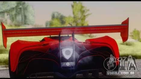 Mazda Furai 2008 para GTA San Andreas vista direita