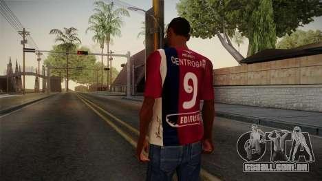 Oficinas de Córdoba Camisa para GTA San Andreas segunda tela
