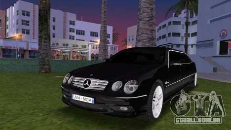 Mercede-Benz CL65 AMG Limousine para GTA Vice City