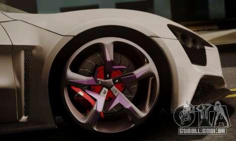 Zenvo ST SHDru Tuning para GTA San Andreas vista direita