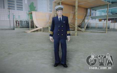 Commercial Airline Pilot from GTA IV para GTA San Andreas
