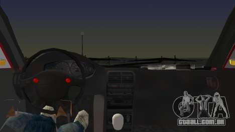 Skoda Superb Tuned para GTA Vice City vista traseira esquerda
