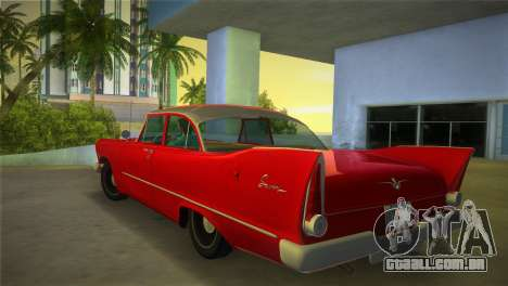 Plymouth Savoy Club Sedan 1957 para GTA Vice City deixou vista