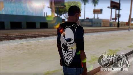 Blind Shirt para GTA San Andreas segunda tela