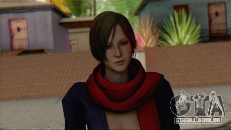 Ada Wong v2 para GTA San Andreas terceira tela