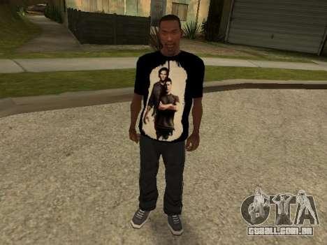 T-Shirt Sobrenatural para GTA San Andreas