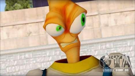 Earthworm Jim para GTA San Andreas