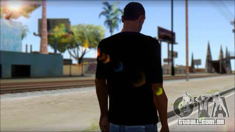 Boy Eagle T-Shirt para GTA San Andreas segunda tela
