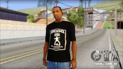 Chris Jericho Jerichohol T-Shirt para GTA San Andreas