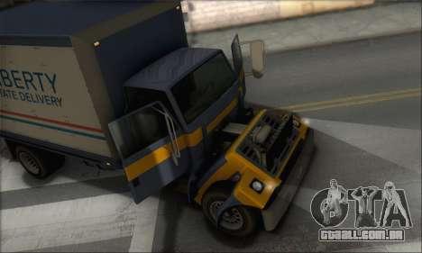 GTA IV Yankee para GTA San Andreas vista traseira