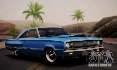 Dodge Coronet 440 Hardtop Coupe (WH23) 1967 para GTA San Andreas