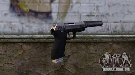 Silenced Combat Pistol from GTA 5 para GTA San Andreas segunda tela
