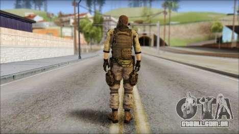 Piers Nivans Resident Evil 6 para GTA San Andreas segunda tela