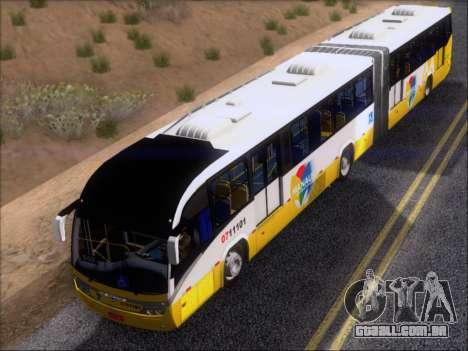 Neobus Mega BRT Volvo B12M-340M para GTA San Andreas interior