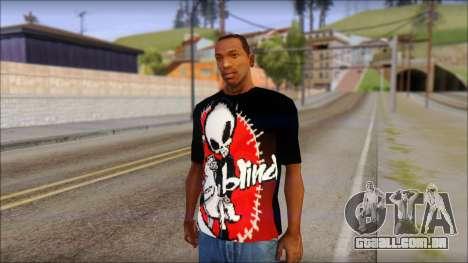 Blind Shirt para GTA San Andreas