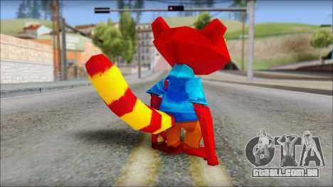 Chang the Firefox from Fur Fighters Playable para GTA San Andreas terceira tela